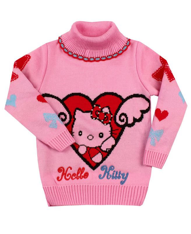 Свитер для девочки , розовый (30/116, розовый)