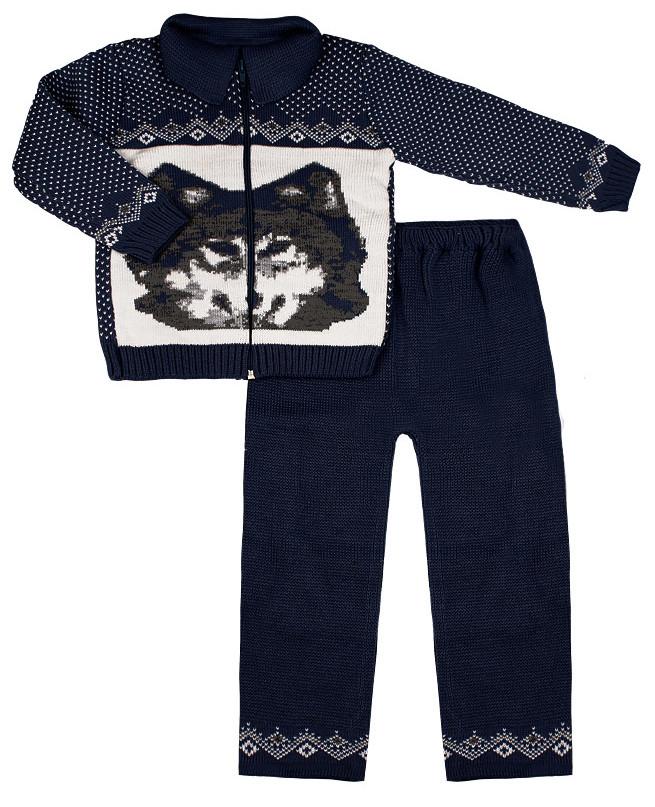 Синий костюм для мальчика (28/104, синий)