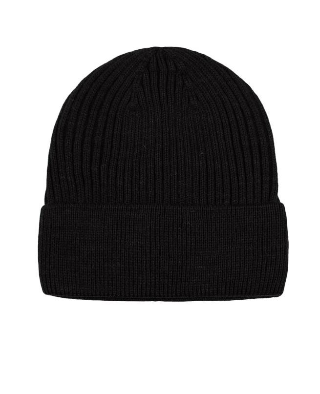 Черная шапка для мальчика (56/58, черный)