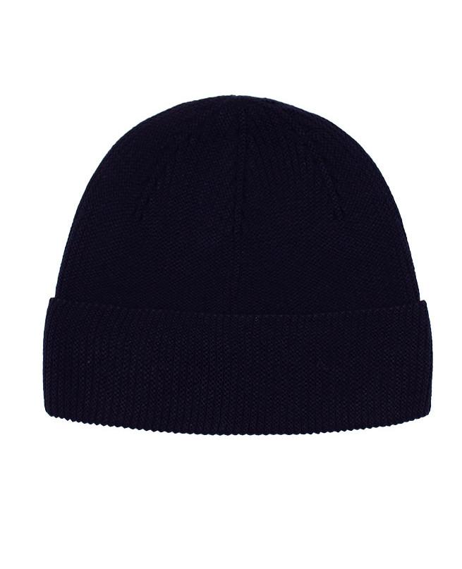 Синяя шапка для мальчика (56/58, синий)