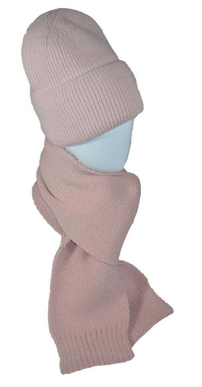 Комплект женский (шапка, шарф)