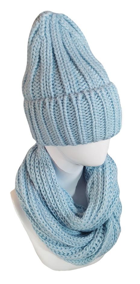 Комплект женский (шапка ,снуд)